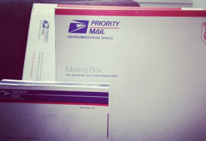 Order free supplies like flat rate boxes and envelopes for Priority Mail® and Priority Mail Express® shipping.