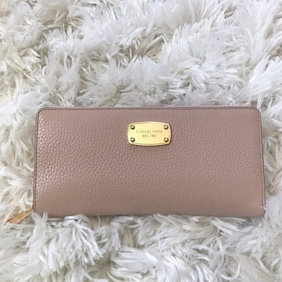 Michael Kors Rose Gold Wallets